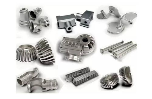 小型铝合金铸造件展示